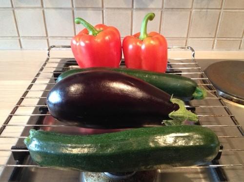 Verdura alla griglia – Gemüse vom Grill